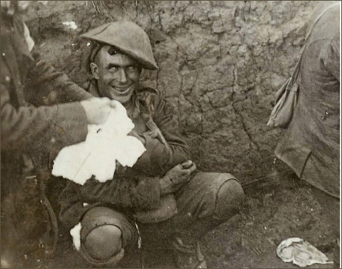 Shell Shock in the Trenches